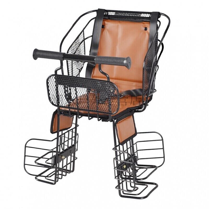 自行车儿童座椅电动车电瓶山地车宝宝后置安全坐椅cyab62_1 0021深灰