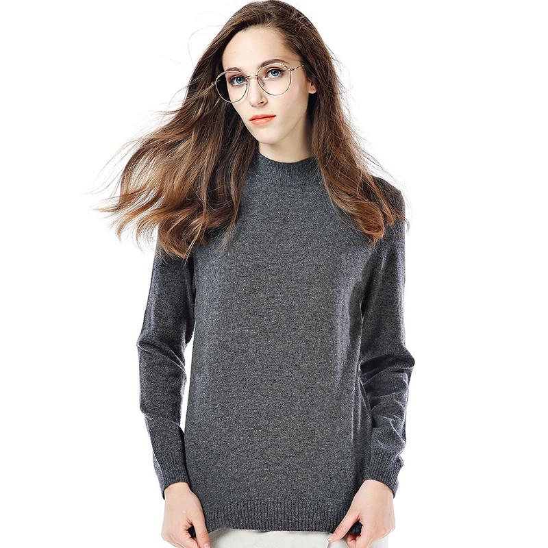 �zf���,y�,y�a_fsr201ya半高领长袖套头纯羊毛衫 m 烟灰色
