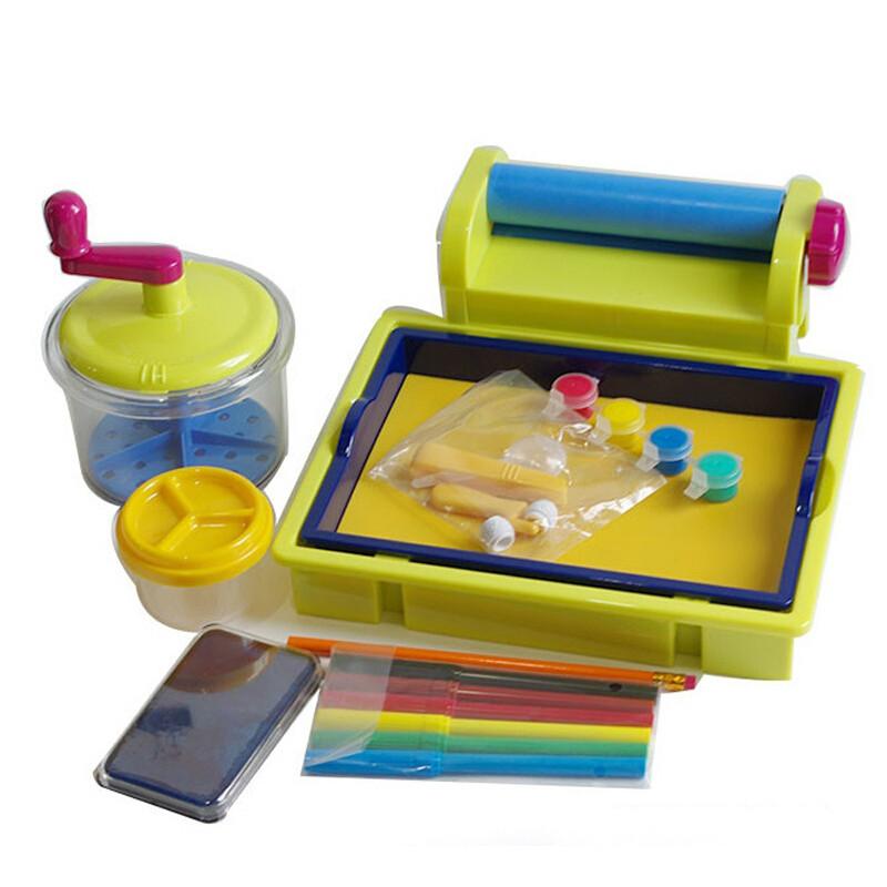 贝乐高哈哈造纸机7358幼儿园手工创意贺卡儿童玩具标配