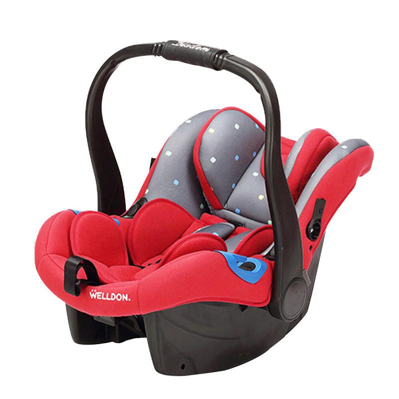 惠尔顿新生儿童汽车安全座椅 提篮式安全座椅小皇冠 反向安装 0-15个