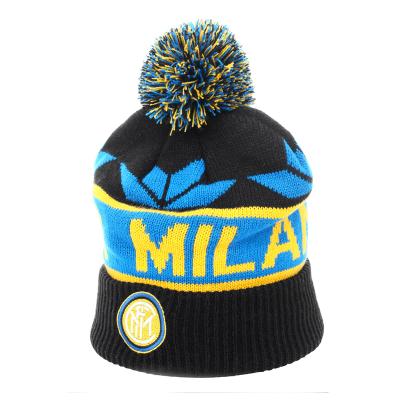 国际米兰俱乐部针织棉帽-蓝黑色 (Inter Milan)
