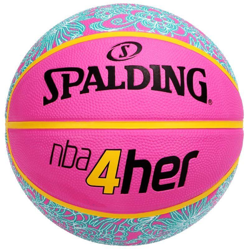 SPALDING брендийн сагсны бөмбөг 83-050Y эмэгтэй загвар, резинэн материал, ягаан өнгө