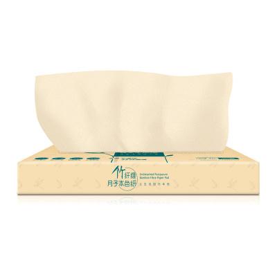 开丽 本色月子纸 孕妇刀纸产后专用母子卫生纸竹纤维纸巾餐巾纸 孕产妇孕产包用品 1包90张KBS5030
