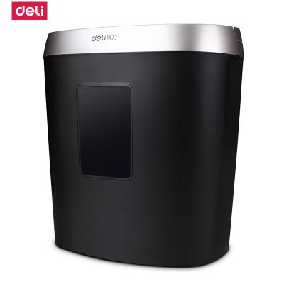 得力deli9929碎纸机办公家用电动静音大功率3级保密迷你粉碎机碎纸机