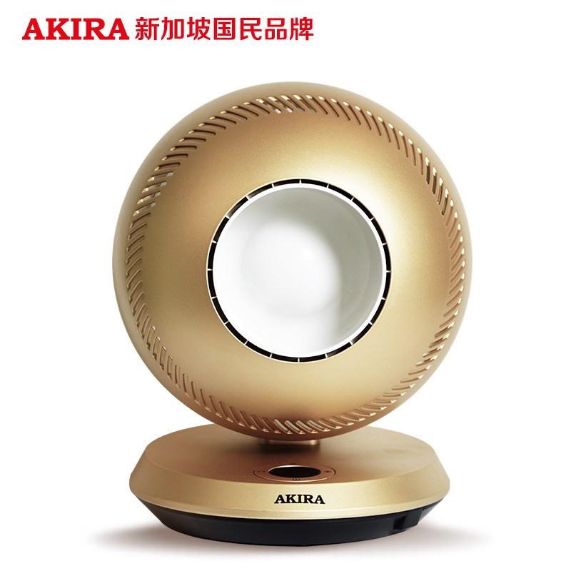 爱家乐(AKIRA)HA-Q7/SG GLORY 球形风扇 家用可遥控摇头台式儿童电风扇 金色