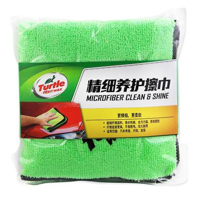 龟牌(Turtle Wax)精细养护擦巾(TW-174)精细养护擦车巾抛光毛巾擦车布擦车毛巾抛光洗车毛巾