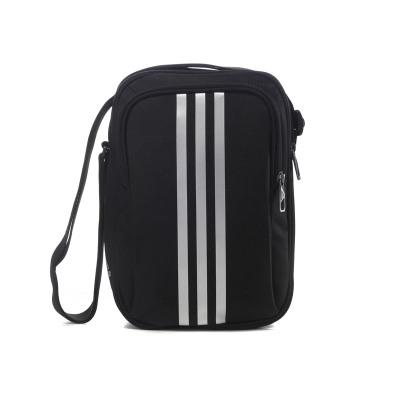 adidas阿迪達斯單肩包三條紋運動包S02196 黑色