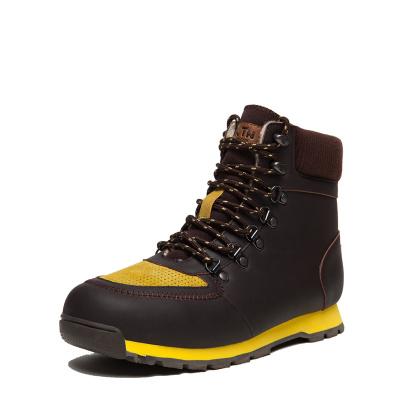 TNTN韓版戶外冬季加厚羊毛保暖東北絨男士高幫馬丁雪地棉鞋工裝靴子