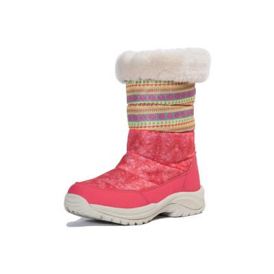 NTN韓版戶外冬季俄羅斯羽絨加絨東北防水女士情侶滑雪地鞋棉靴子