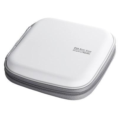 日本山業(Sanwa supply)車載CD包/光盤收納包/汽車用CD盒/24片裝FCD-SH24WH 24片白色
