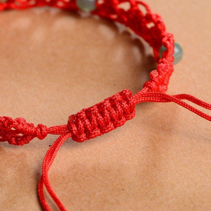 石头记 十二生肖之蛇 东陵石手链红绳编织 217606501