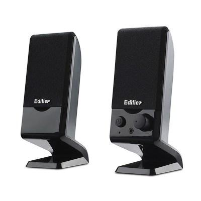 漫步者(EDIFIER) R10U 2.0迷你便携小音响 USB笔记本台式电脑音箱 黑色