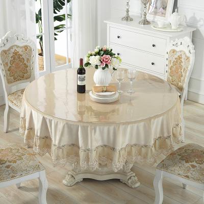 【年货节 85折】凡轩 软玻璃透明磨砂水晶板方桌布防水防烫茶几垫塑料桌垫印花台布