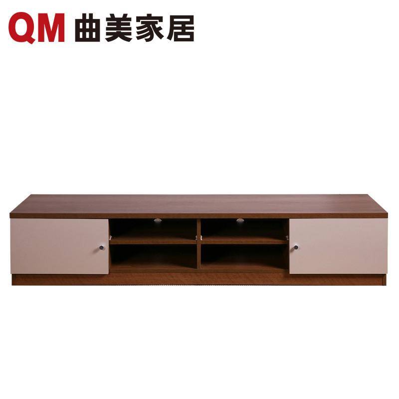 曲美家具 木质电视柜 环保储物柜 北欧简约现代 小户型客厅卧室家具