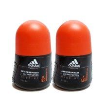 adidas 阿迪达斯男士走珠香体液天赋50ml*2支 新老包装更替