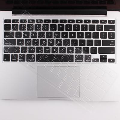 酷奇蘋果筆記本電腦鍵盤膜TPU macbook air pro 13.3英寸保護膜薄 15.4英寸鍵盤膜