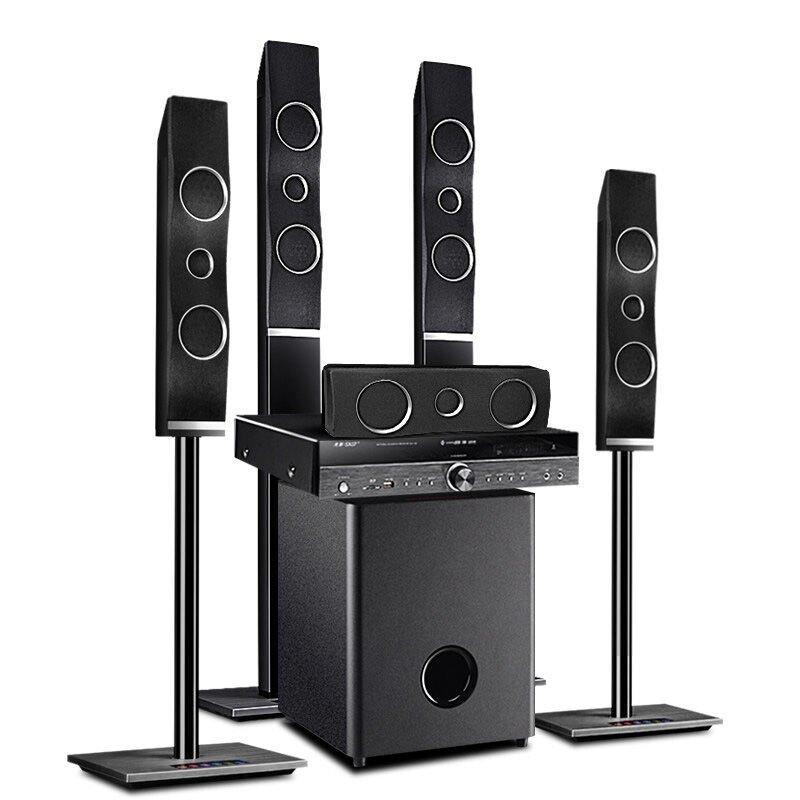1家庭影院音响 8寸重低音hifi蓝牙 带功放组合音箱 先科(sa