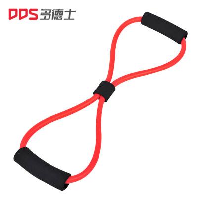 多德士8字拉力器 乳膠管擴胸器彈力繩拉力繩瑜伽健身器材多功能拉繩