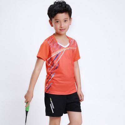 羽毛球服套裝男女款兒童親子服運動服速干夏短袖訓練比賽羽毛球服