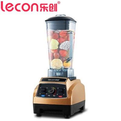 乐创电器旗舰店(lecon) LC-L01 沙冰机 2升商用豆浆机料理机 奶茶店碎冰机 榨汁机 绵绵冰机