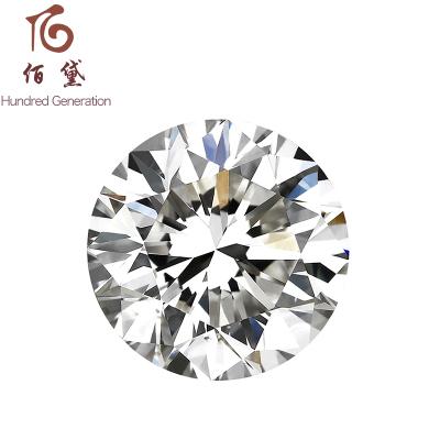 佰黛 Hundred Generation 50分GIA钻石裸石 裸钻定制求婚结婚订婚钻戒定做 0.5克拉钻石戒指 北京