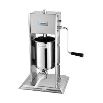 高端 专业 全不锈钢商用手摇灌肠机 3L 自制香肠机