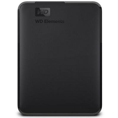 西部数据(WD)5T USB3.0移动硬盘Elements 新元素系列2.5英寸WDBU6Y0050BBK
