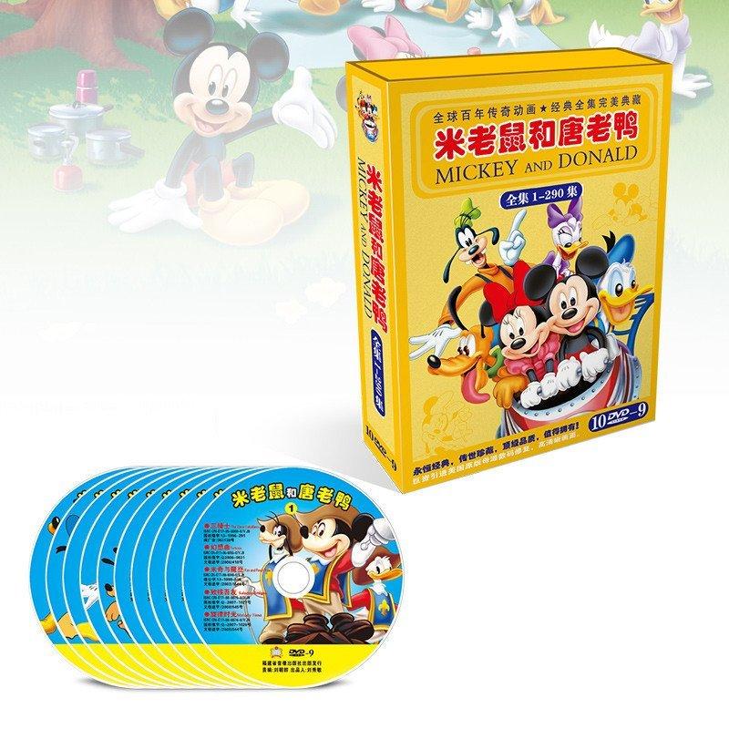 米老鼠和唐老鸭英文版dvd原版迪斯尼迪士尼英文动画片图片