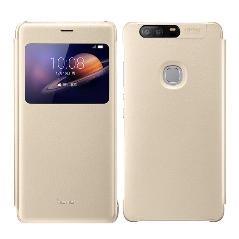 华为手机套_华为/huawei荣耀v8手机壳 华为v8手机套 华为v8原装皮套 华为v8原装