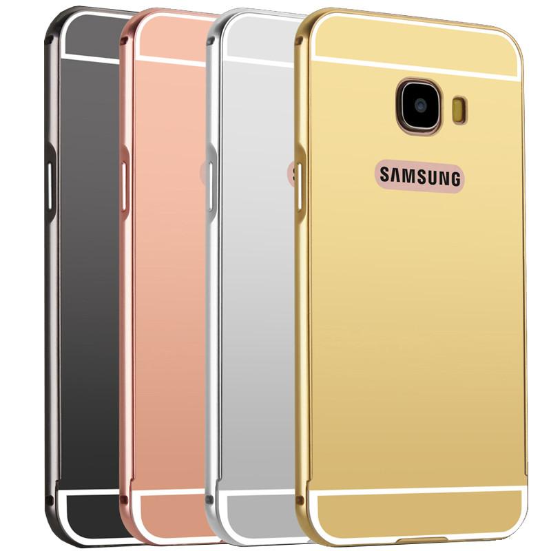 蓝琼 三星c7手机壳金属边框防摔后盖sm-c7000手机套保护外壳