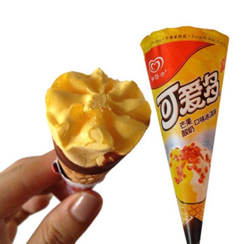 七果果 可爱多甜筒芒果口味冰淇淋雪糕 5支装 3天内发货 冻品类130元