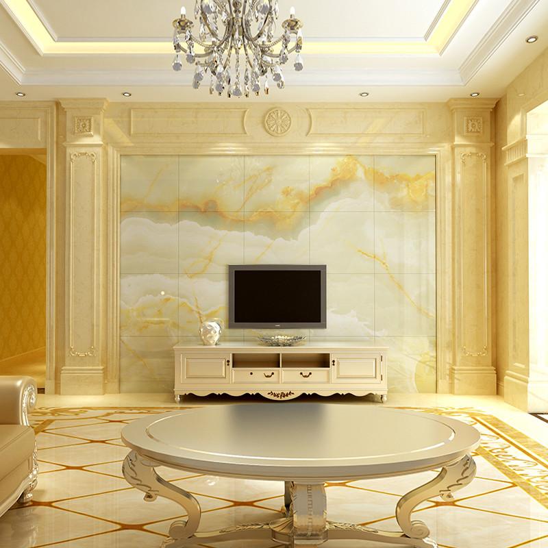 唐梦 瓷砖背景墙 欧式3d仿大理石 高温微晶 威尼斯罗马柱组合套餐