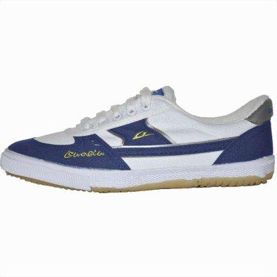 國球guoqiu 乒乓球鞋 兒童成人運動鞋 GX-1002 純棉帆布鹿皮絨鞋
