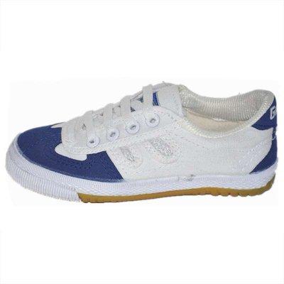 國球/GUOQIU 乒乓球鞋 專業小孩兒童乒乓球運動鞋 GX-1003帆布牛筋底