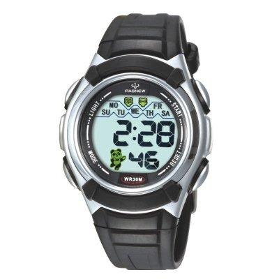 百圣牛(PASNEW)手表 30米生活防水运动表 男女儿童学生电子表 女孩327