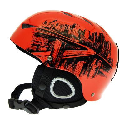 希途citoor滑雪护具、头盔(2018)新款ABS 材质滑雪头盔单双板成人男女儿童通用滑雪护具装备运动头盔C2P42