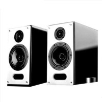 漫步者(EDIFIER) S2000V 2.0声道 多媒体音箱 黑白色