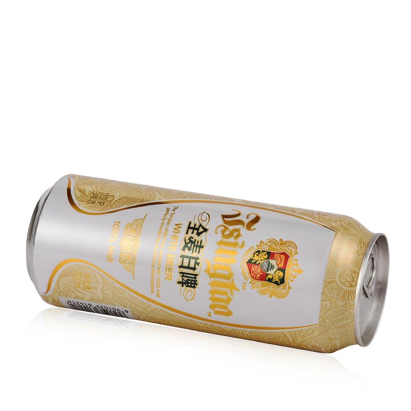 【久酒】青岛啤酒 全麦白啤 11度 500ml*10听 礼盒装