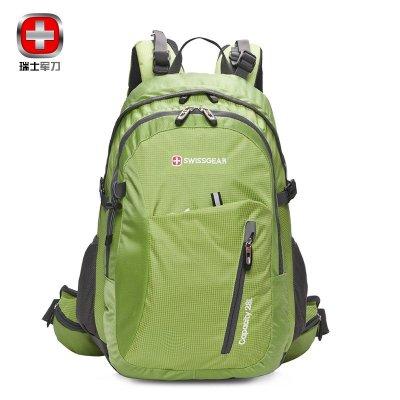 新SWISSGEAR雙肩包瑞士軍刀 防水尼龍防刮戶外包登山包男女通用28L運動休閑包旅行背包