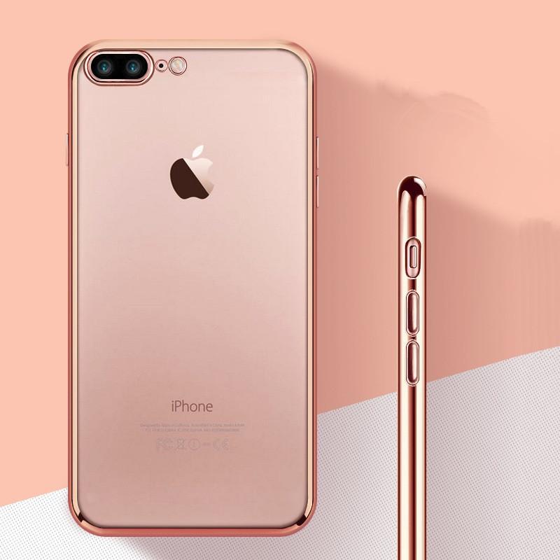 酷猫 苹果7plus手机壳保护套创意tpu电镀边框 iphone7