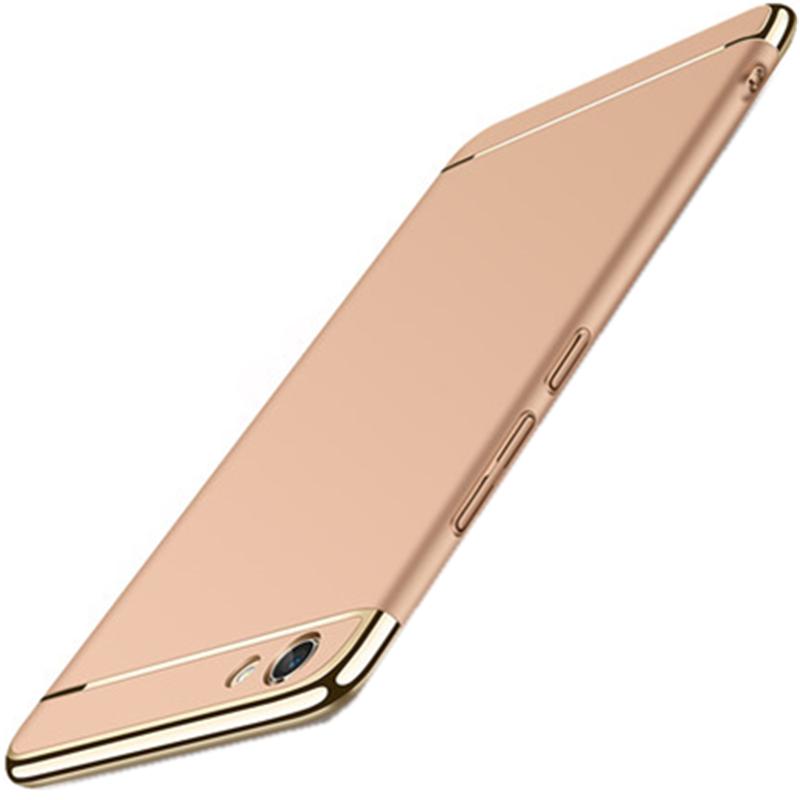 酷猫vivo x7plus手机壳电镀边框磨砂三段式后壳 步步高x7plus外壳保护图片