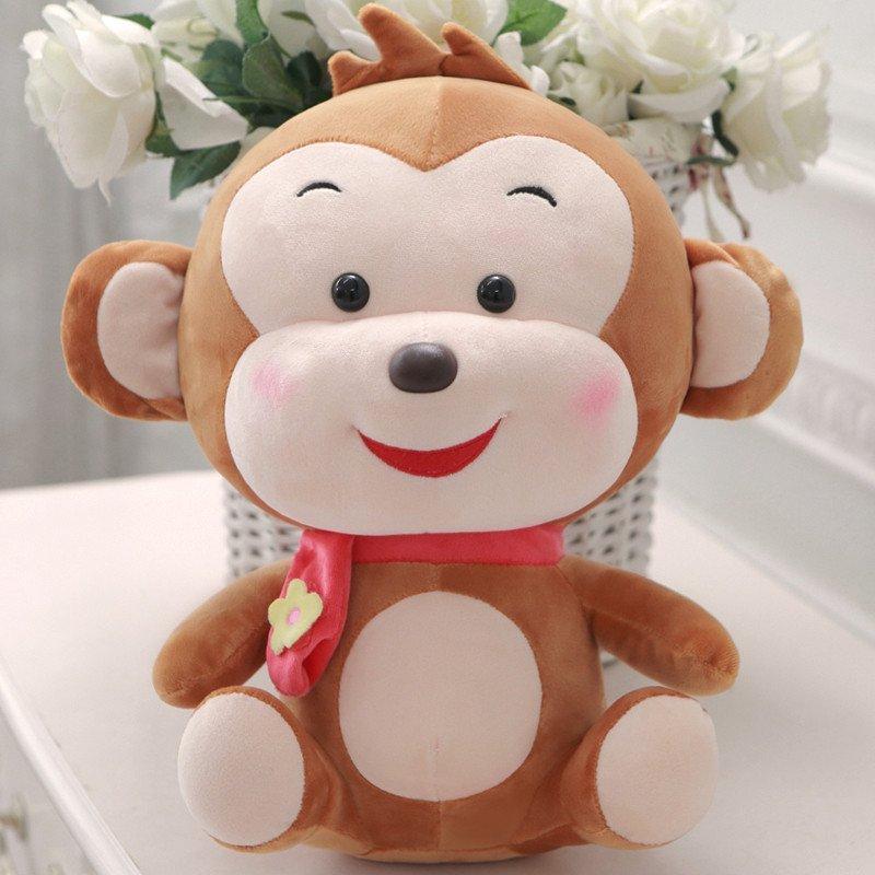 悦达 猴子毛绒玩具公仔可爱儿童布娃娃小猴子玩偶抱枕
