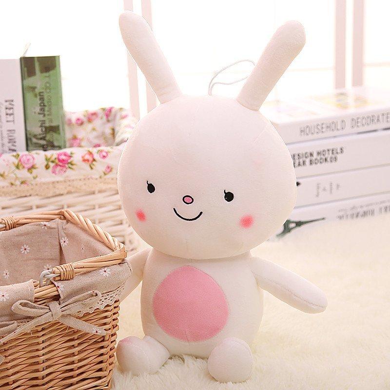 悦达 兔子毛绒玩具 可爱小白兔玩偶儿童布偶娃娃抱枕 生日礼物送女生