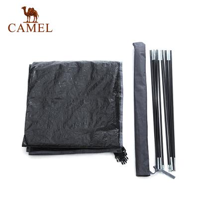 CAMEL骆驼帐篷户外支架地幕 3-4人露营帐篷配件加厚伸缩套装