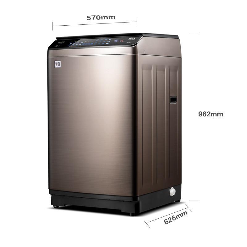 三洋(sanyo)8公斤全自动变频波轮洗衣机db80399bde(钛