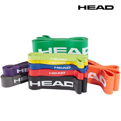 HEAD海德拉力带 健身拉力圈 瑜伽瘦腿提臀弹力带 女力量训练 男阻力圈 引体向上辅助