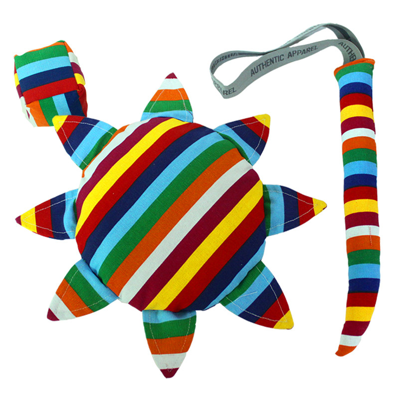 儿童户外安全软飞盘 幼儿园手工布艺沙包尾巴三件套户外运动玩具 汉堡