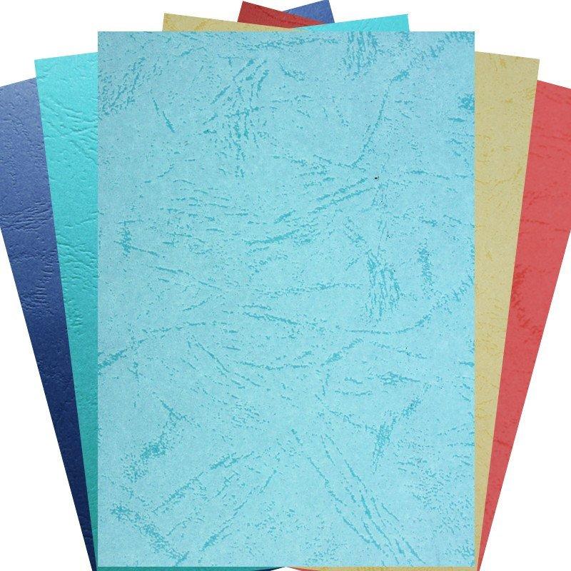 财友a4皮纹纸 压纹纸 云彩纸档案装订财务封面封皮 封面纸(100张/包)