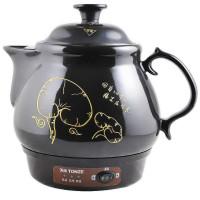 天际(TONZE)陶瓷养生煲 养生壶 BJH-W300F 黑色 机械式 3L