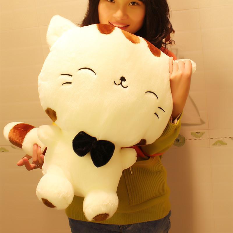 安吉宝贝 创意大号毛绒玩具大脸猫玩偶可爱布娃娃抱枕